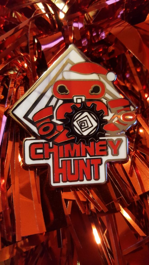 Chimney Hunt Collector Pin