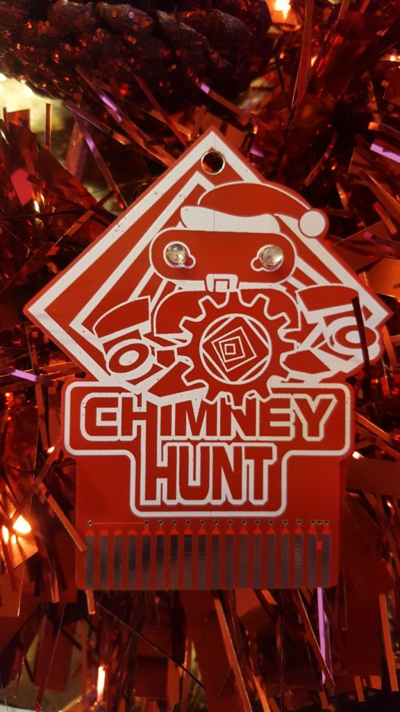 Chimney Hunt novelty PCB for Vectrex